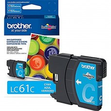 Cartucho Original de Tinta Brother LC61C Cian P-325 Pag.