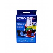 Cartucho Original de Tinta Cian Brother LC65HY-C P-750 Pag