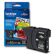 Cartucho Original de Tinta Negro Brother LC65HY-BK P-900 Pag.