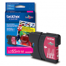 Cartucho Original de Tinta Magenta Brother LC65HY-M P- 750 Pag