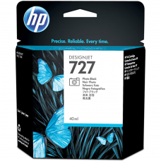 Cartucho Original de Tinta HP 727 B3P17A Photo Black C T920 40ML.