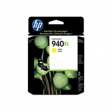 Cartucho Original de Tinta Amarillo HP 940XL Officejet C4909AL P-1,400 Pag.