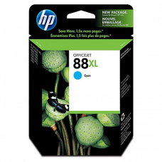Cartucho Original de Tinta Cian HP 88XL Officejet C9391AL P-1,700 Pag.